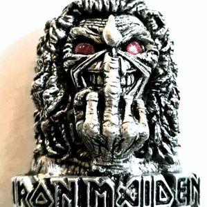 """Alchemy Poker"""" Iron MAIDEN Eddie's Finger"""" Pendant"""